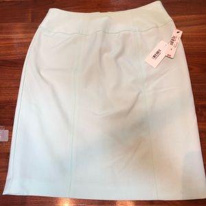 NWT worthington mint pencil skirt